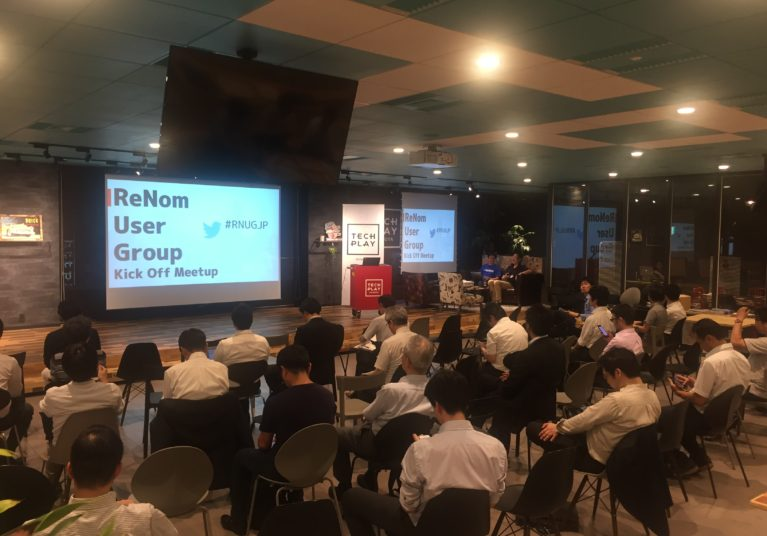 【登壇レポート】∞ReNom User Group Kick Off Event